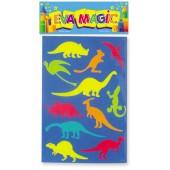 Troquelito Mediano Dinosaurios Goma Eva