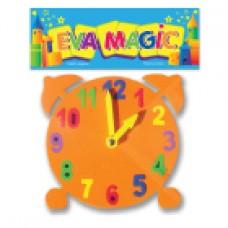Reloj didáctico chico Goma Eva