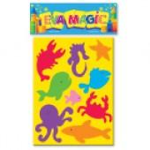 Animales de Mar (Rompecabezas) Goma Eva