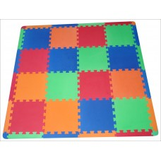 Set pisos goma eva 6m2 bolsa (24 pisos 50x50+ 20 bordes + 4esquineros)